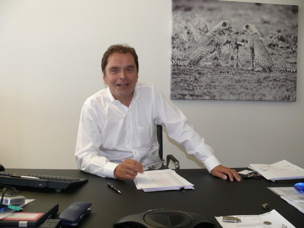 Manfred Düring, General Manager Mining EAME