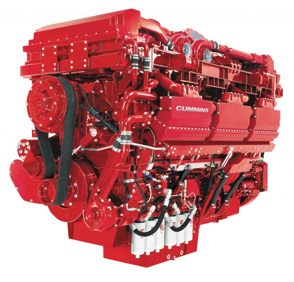 Cummins QSK78 – 18 Zylinder mit 78 Liter Hubraum