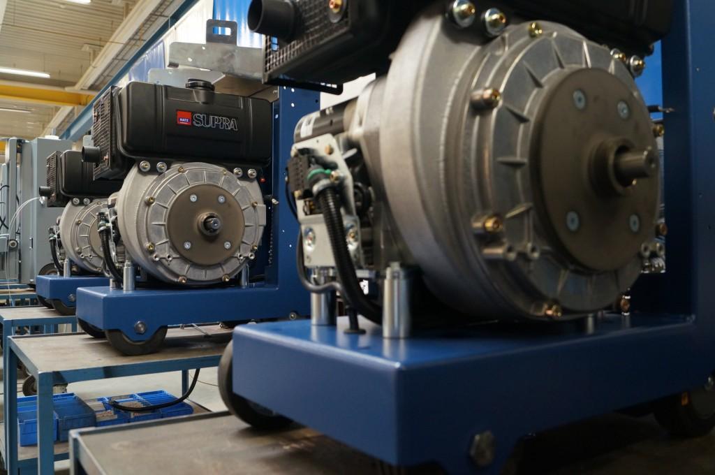 In die Lissmac Geräte  werden die Hatz Motoren von 7,3 - 14,7 kW (9,9 - 20 PS) in 1- bzw. 2-Zylinder-Ausführungen eingesetzt. Die Hatz Motoren treiben Diamant-Sägeblätter bis zu einem Durchmesser von 700 mm an