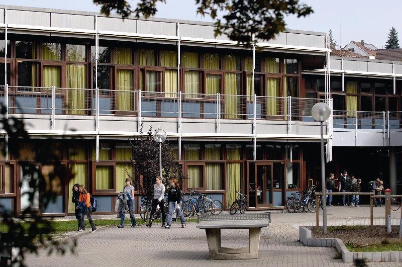 Teilansicht des Schulgebäudes