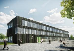 Das Forschungs- und Entwicklungsprojekt ibuilding zielt auf einen zukunftsorientierten Büro- und Verwaltungsbau ab (Foto: Brüninghoff)