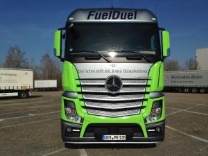 Der Fuel Duel Actros (Foto: Mercedes Benz)