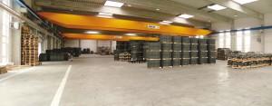 Moderne und für die Anforderungen bestens dimensionierte Betriebsausrüstung schafft die Voraussetzung für schnelle Fertigung und Lieferung