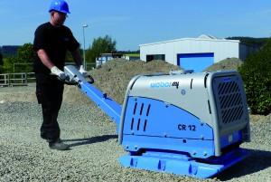 Der CR 12 ist das neue Schwergewicht im Weber MT-Sortiment für reversierbare Bodenverdichter (Foto: Weber MT)