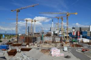 Ende April 2014 waren 4500 m² Mietschalung von PASCHAL Danmark A/S für den reibungslosen Bau-ablauf bereitgestellt (alle Fotos: PASCHAL)