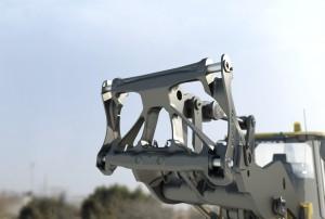 Der neue Schnellwechsler ermöglicht den Einsatz verschiedener Anbaugeräte (Foto: Volvo)