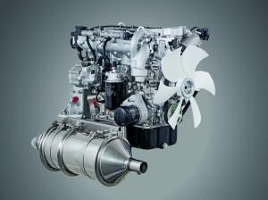 Der Hatz 4H50TIC DPF  mit optional verfügbarem Dieselpartikelfilter (Foto: Hatz)