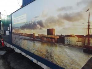 Nach Fertigstellung ist von der Unterwassertiefgarage nur noch die Eventfläche mit einer Treppenanlage ins Wasser vor dem Kopenhagener Schauspielhaus zu sehen (alle Fotos: Paschal)