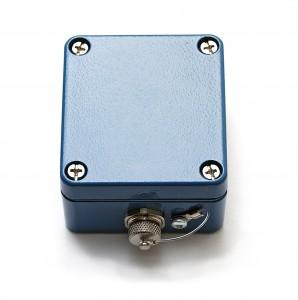 Dieses Rösler miniDaT-VIB erfasst exakt die Betriebszeiten von Gabelstaplern und anderen Geräten