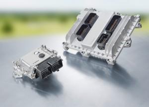 Das Steuergerät für den Antrieb mit Wasserstoffzellen Foto: Bosch-Engineering