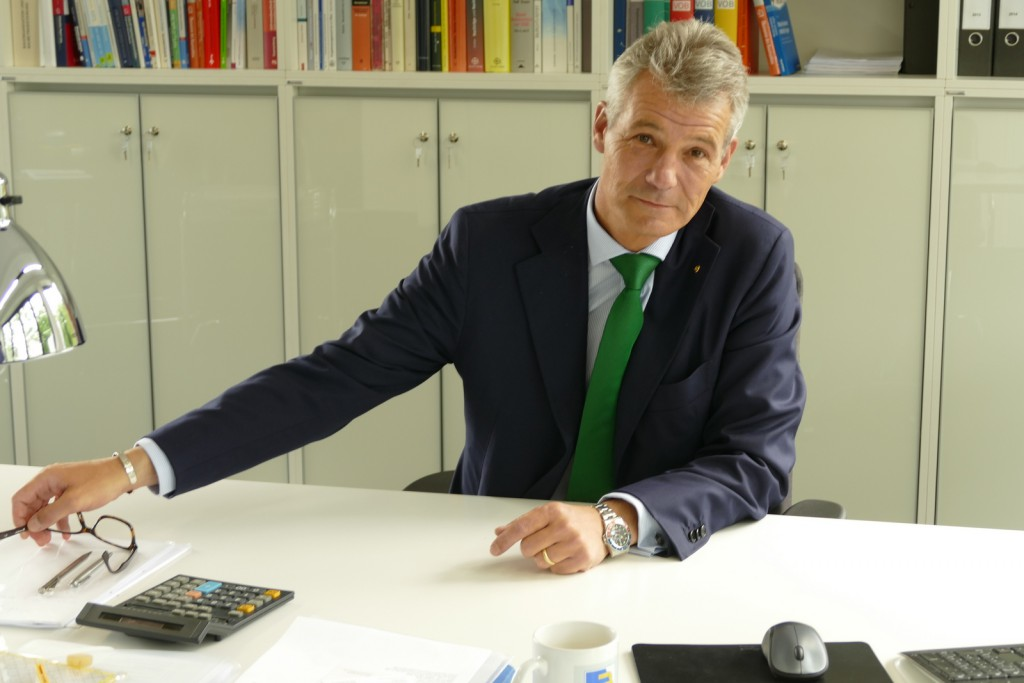 Thomas Echterhoff, Präsident des Bauindustrie Verbandes Niedersachsen-Bremen